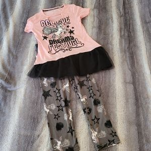 Girl's unicorn outfit size 10